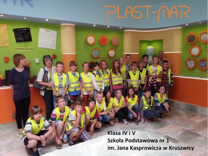 Plast-Mar - Recykling tworzyw sztucznych - Plast-Mar.pl - Szkoła Podstawowa nr 1 im. Jana Kasprowicza - Kruszwica
