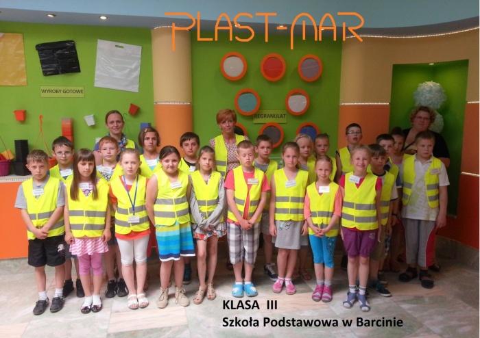 Plast-Mar - Recykling tworzyw sztucznych - Plast-Mar.pl - Szkoła Podstawowa - Barcin