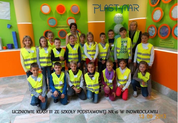 Plast-Mar - Recykling tworzyw sztucznych - Plast-Mar.pl - Szkoła Podstawowa nr 16 - Inowrocław
