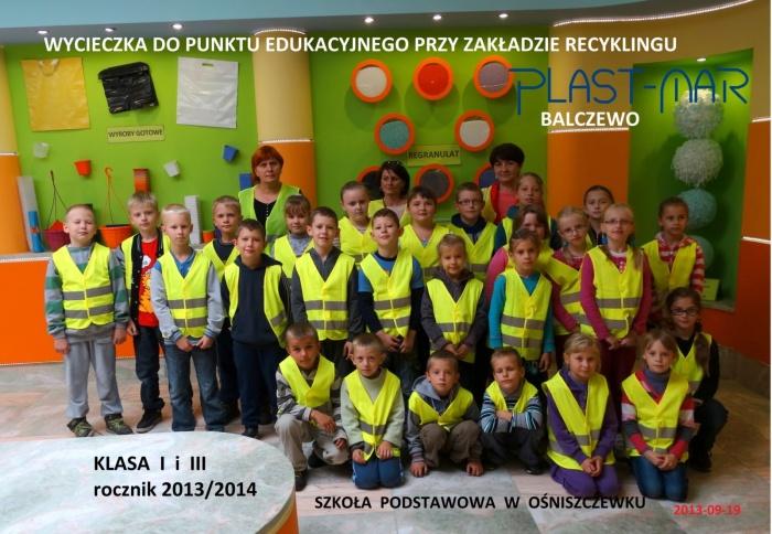 Plast-Mar - Recykling tworzyw sztucznych - Plast-Mar.pl - Szkoła Podstawowa - Ośniszczewko
