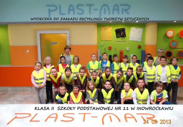 Plast-Mar - Recykling tworzyw sztucznych - Plast-Mar.pl - Szkoła Podstawowa nr 11 - Inowrocław