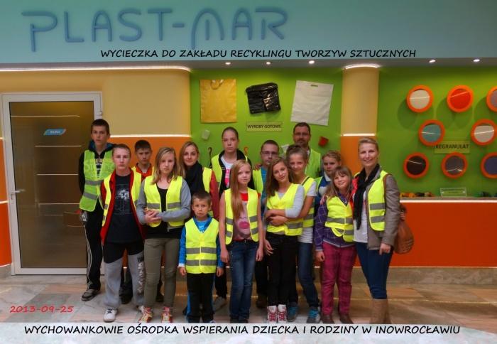 Plast-Mar - Recykling tworzyw sztucznych - Plast-Mar.pl - Ośrodek Wsperania Dziecka i Rodziny - Inowrocław