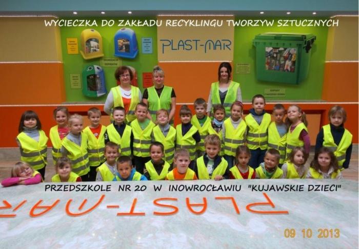 Plast-Mar - Recykling tworzyw sztucznych - Plast-Mar.pl - Przedszkole nr 20 - Inowrocław