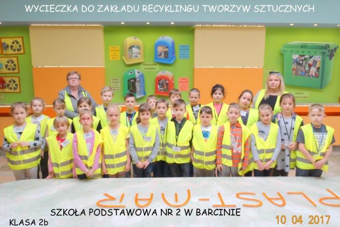 Plast-Mar - Recykling tworzyw sztucznych - Plast-Mar.pl - Szkoła Podstawowa nr 2 - Barcin