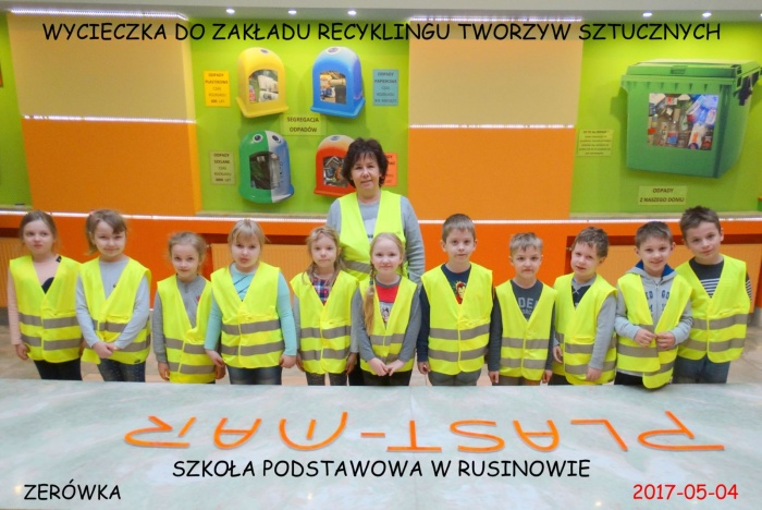 Plast-Mar - Recykling tworzyw sztucznych - Plast-Mar.pl - Szkoła Podstawowa - Rusinów