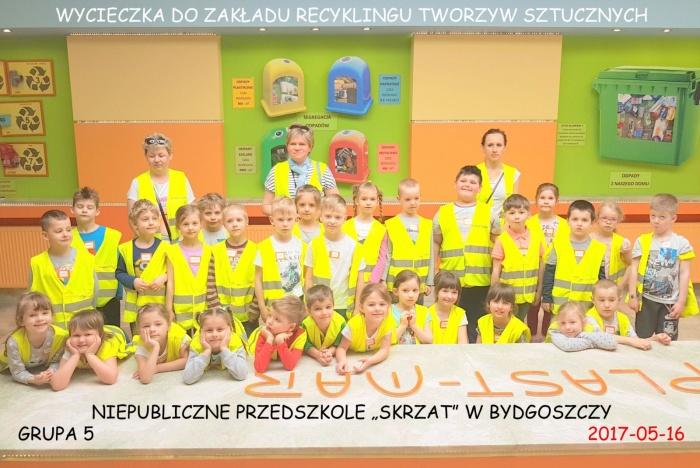 """Plast-Mar - Recykling tworzyw sztucznych - Plast-Mar.pl - Niepubliczne Przedszkole """"Skrzat"""" - Bydoszcz"""