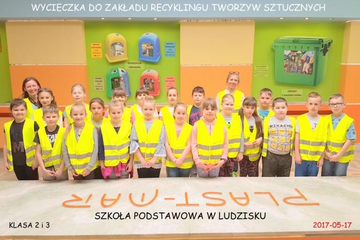 Plast-Mar - Recykling tworzyw sztucznych - Plast-Mar.pl - Szkoła Podstawowa - Ludzisko