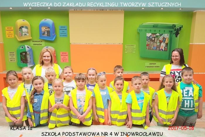 Plast-Mar - Recykling tworzyw sztucznych - Plast-Mar.pl - Szkoła Podstawowa nr 4 - Inowrocław