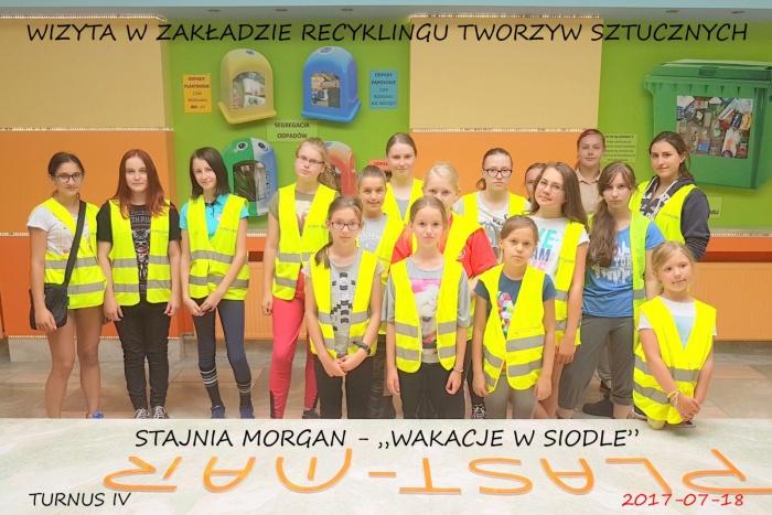 """Plast-Mar - Recykling tworzyw sztucznych - Plast-Mar.pl - Stajnia """"Morgan"""" - Wakacje w Siodle"""