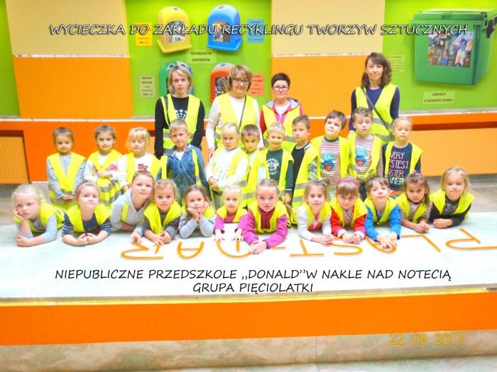 """Plast-Mar - Recykling tworzyw sztucznych - Plast-Mar.pl -  Niepubliczne Przedszkole """"Donald"""" z Nakła nad Notecią"""