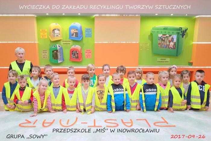 """Plast-Mar - Recykling tworzyw sztucznych - Plast-Mar.pl -  Przedszkole """"Miś"""" w Inowrocławiu"""