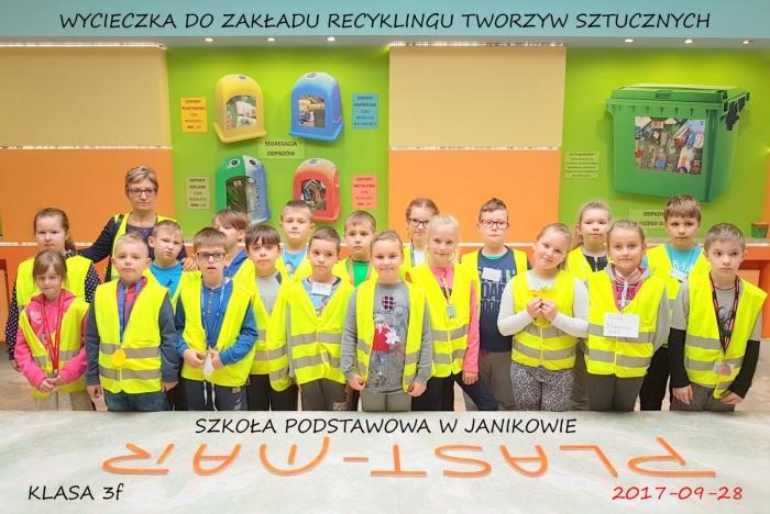 Plast-Mar - Recykling tworzyw sztucznych - Plast-Mar.pl - Szkoła Podstawowa w Janikowie