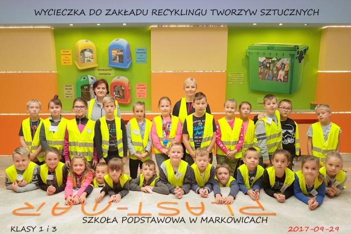 Plast-Mar - Recykling tworzyw sztucznych - Plast-Mar.pl - Szkoła Podstawowa w Markowicach