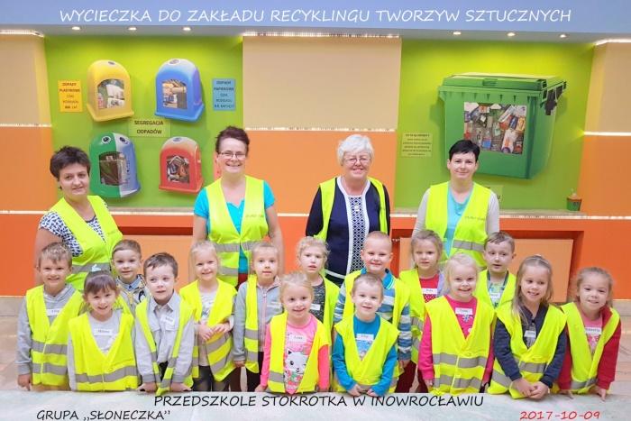 """Plast-Mar - Recykling tworzyw sztucznych - Plast-Mar.pl -  Przedszkole """"Stokrotka"""" w Inowrocławiu"""