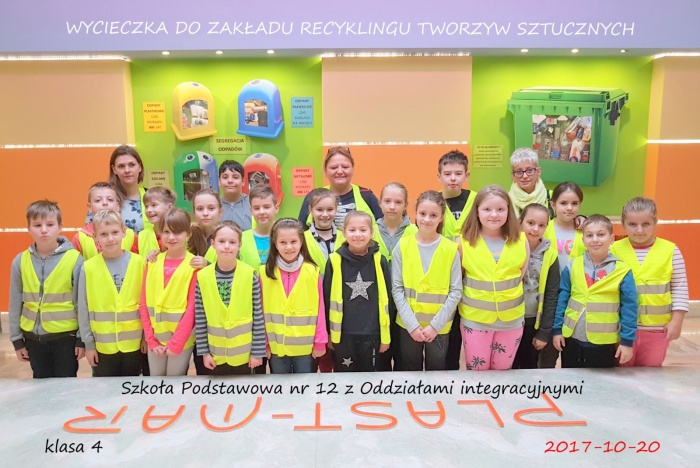 Plast-Mar - Recykling tworzyw sztucznych - Plast-Mar.pl - Szkoła Podstawowa nr 12 z Oddziałami integracyjnymi