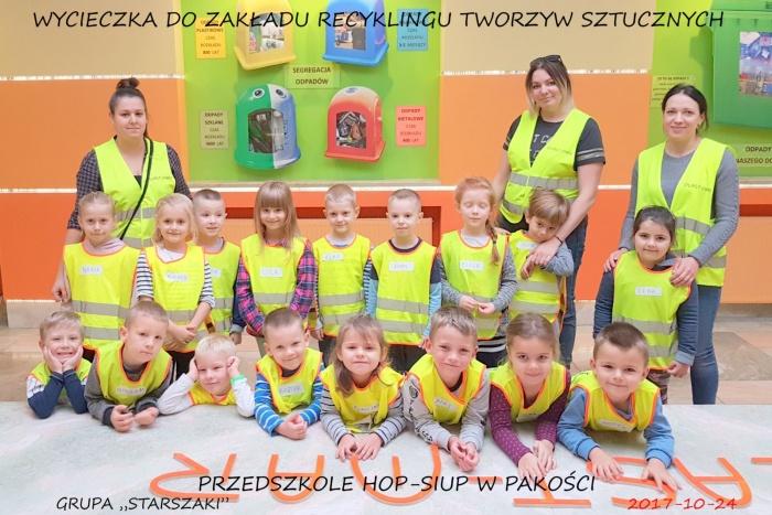 Plast-Mar - Recykling tworzyw sztucznych - Plast-Mar.pl - Przedszkole Hop-Siup w Pakości
