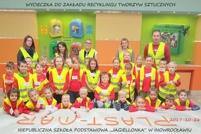 """Plast-Mar - Recykling tworzyw sztucznych - Plast-Mar.pl - Niepubliczna Szkoła Podstawowa """"Jagiellonka"""" w Inowrocławiu"""