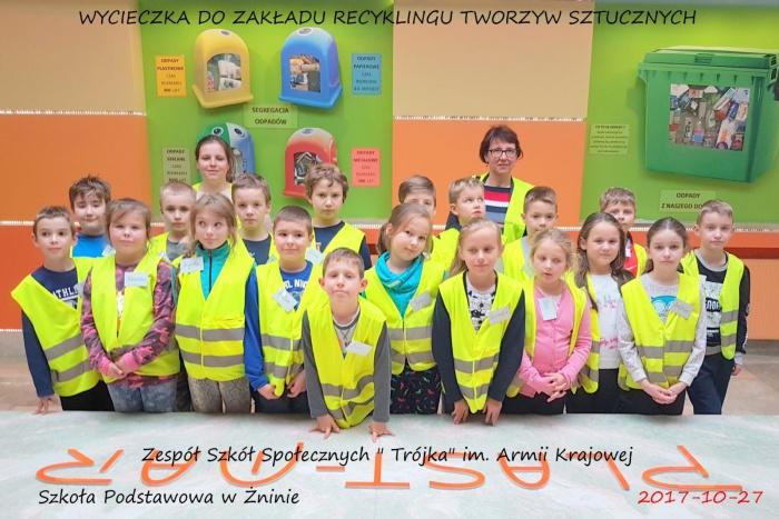 """Plast-Mar - Recykling tworzyw sztucznych - Plast-Mar.pl - Zespół Szkół Społecznych """"Trójka"""""""