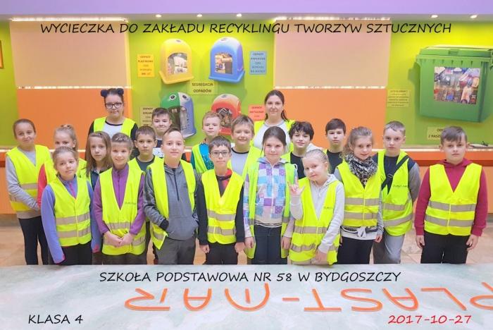 Plast-Mar - Recykling tworzyw sztucznych - Plast-Mar.pl - Szkoła Podstawowa nr 58 w Bydgoszczy