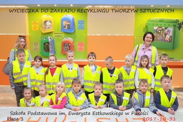Plast-Mar - Recykling tworzyw sztucznych - Plast-Mar.pl - Szkoła Podstawowa w Pakości