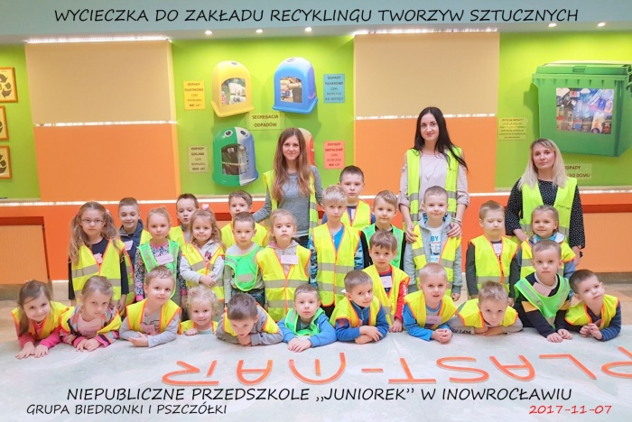 """Plast-Mar - Recykling tworzyw sztucznych - Plast-Mar.pl - Niepubliczne Przedszkole """"Juniorek"""" w Inowrocławiu"""