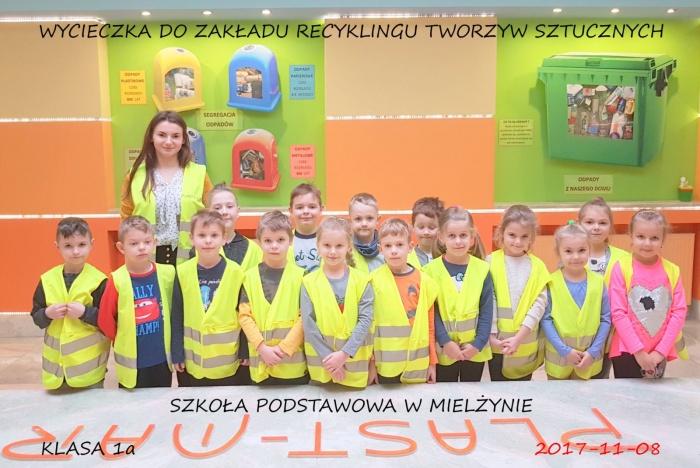 Plast-Mar - Recykling tworzyw sztucznych - Plast-Mar.pl - Szkoła Podstawowa w Mielżynie