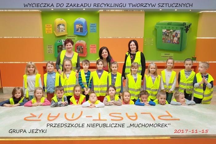 """Przedszkole Niepubliczne """"Muchomorek""""  - Plast-Mar - Recykling tworzyw sztucznych - Plast-Mar.pl"""