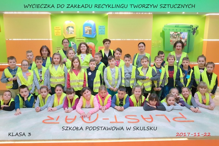 Szkoła Podstawowa w Skulsku  - Plast-Mar - Recykling tworzyw sztucznych - Plast-Mar.pl