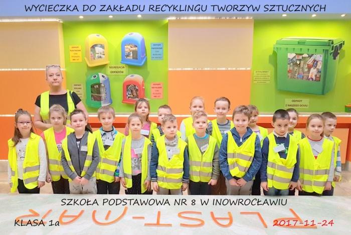 Szkoła Podstawowa nr 8 w Inowrocławiu - Plast-Mar - Recykling tworzyw sztucznych - Plast-Mar.pl