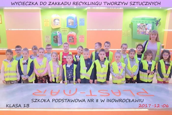 Plast-Mar - Recykling tworzyw sztucznych - Plast-Mar.pl - Szkoła Podstawowa nr 8 w Inowrocławiu
