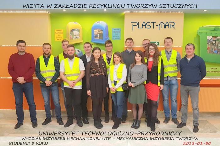 Plast-Mar - Recykling tworzyw sztucznych - Plast-Mar.pl - Uniwersytet Technologiczno-Przyrodniczy