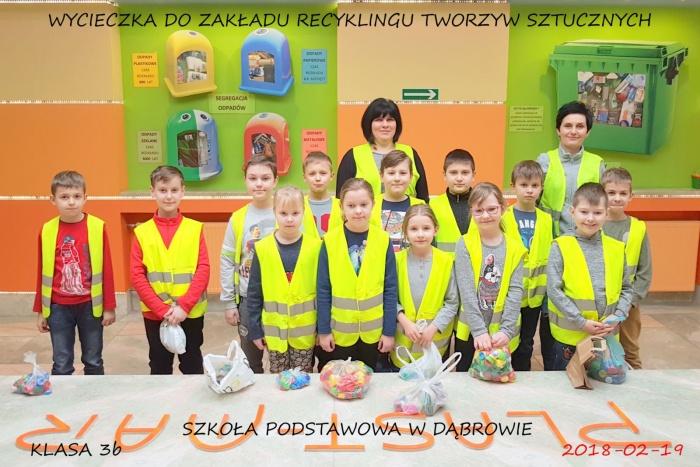 Plast-Mar - Recykling tworzyw sztucznych - Plast-Mar.pl - Szkoła Podstawowa w Dąbrowie
