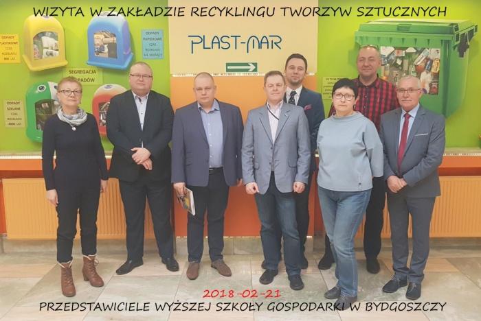 Plast-Mar - Recykling tworzyw sztucznych - Plast-Mar.pl - Wyższa Szkoła Gospodarki w Bydgoszczy