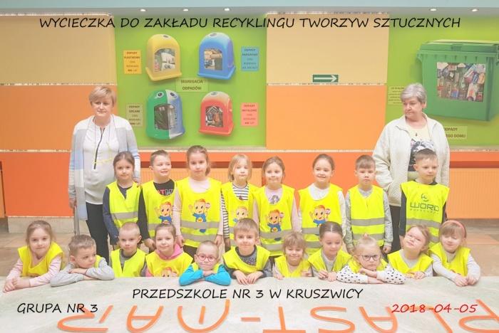 Plast-Mar - Recykling tworzyw sztucznych - Plast-Mar.pl - Przedszkole nr 3 w Kruszwicy