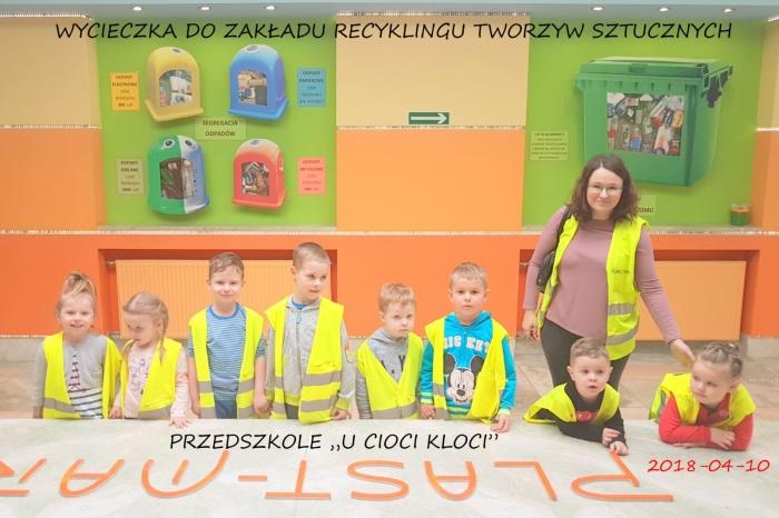 """Plast-Mar - Recykling tworzyw sztucznych - Plast-Mar.pl - Przedszkole """"U Cioci Kloci"""""""
