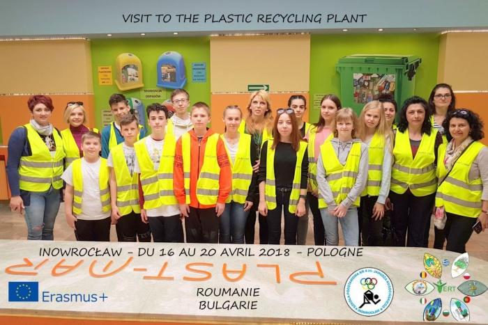 Plast-Mar - Recykling tworzyw sztucznych - Plast-Mar.pl - Szkoła Podstawowa nr 4 - program Erasmus+