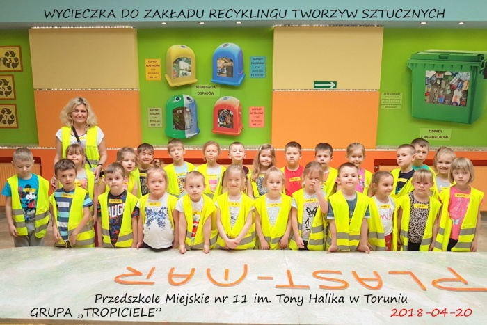 Plast-Mar - Recykling tworzyw sztucznych - Plast-Mar.pl - Przedszkole Miejskie nr 11 im. Tony Halika w Toruniu
