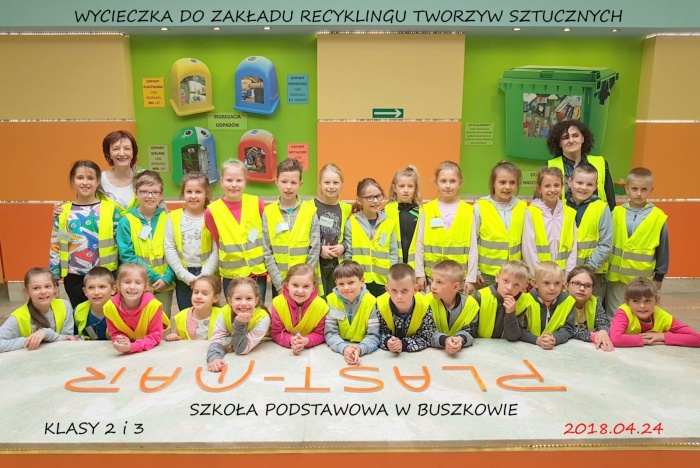 Plast-Mar - Recykling tworzyw sztucznych - Plast-Mar.pl - Szkoła Podstawowa w Buszkowie