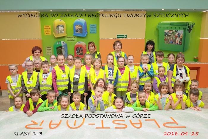 Plast-Mar - Recykling tworzyw sztucznych - Plast-Mar.pl - Szkoła Podstawowa w Górze