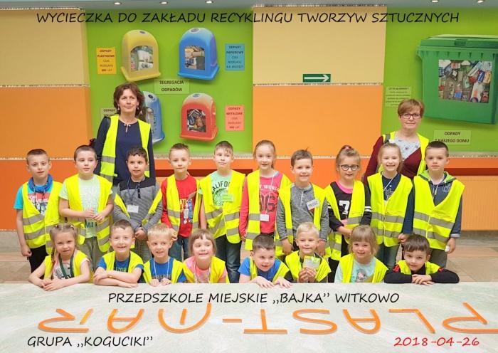 """Plast-Mar - Recykling tworzyw sztucznych - Plast-Mar.pl - Przedszkole Miejskie """"Bajka"""" Witkowo"""