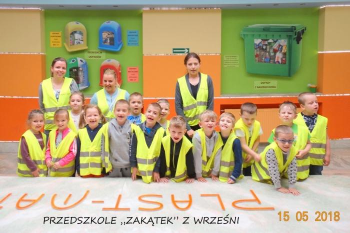 """Plast-Mar - Recykling tworzyw sztucznych - Plast-Mar.pl - Przedszkole """"Zakątek"""" z Wrześni"""