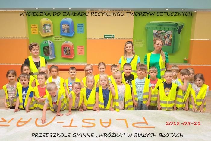 """Przedszkole Gminne """"Wróżka"""" w Białych Błotach  - Plast-Mar - Recykling tworzyw sztucznych - Plast-Mar.pl"""