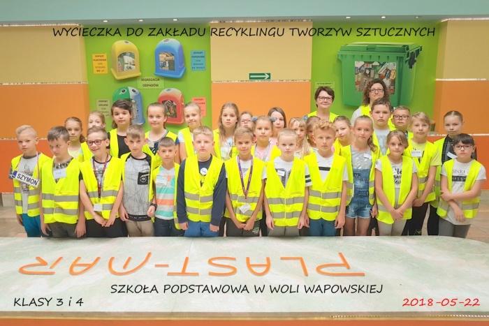 Szkoła Podstawowa w Woli Wapowskiej  - Plast-Mar - Recykling tworzyw sztucznych - Plast-Mar.pl