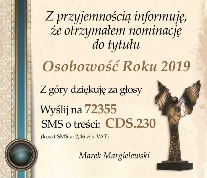 Osobowość Roku 2019 - Plast-Mar - Recykling tworzyw sztucznych - Plast-Mar.pl