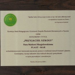 Plast-Mar - Recykling tworzyw sztucznych - Plast-Mar.pl - PRZYJACIEL SZKOŁY